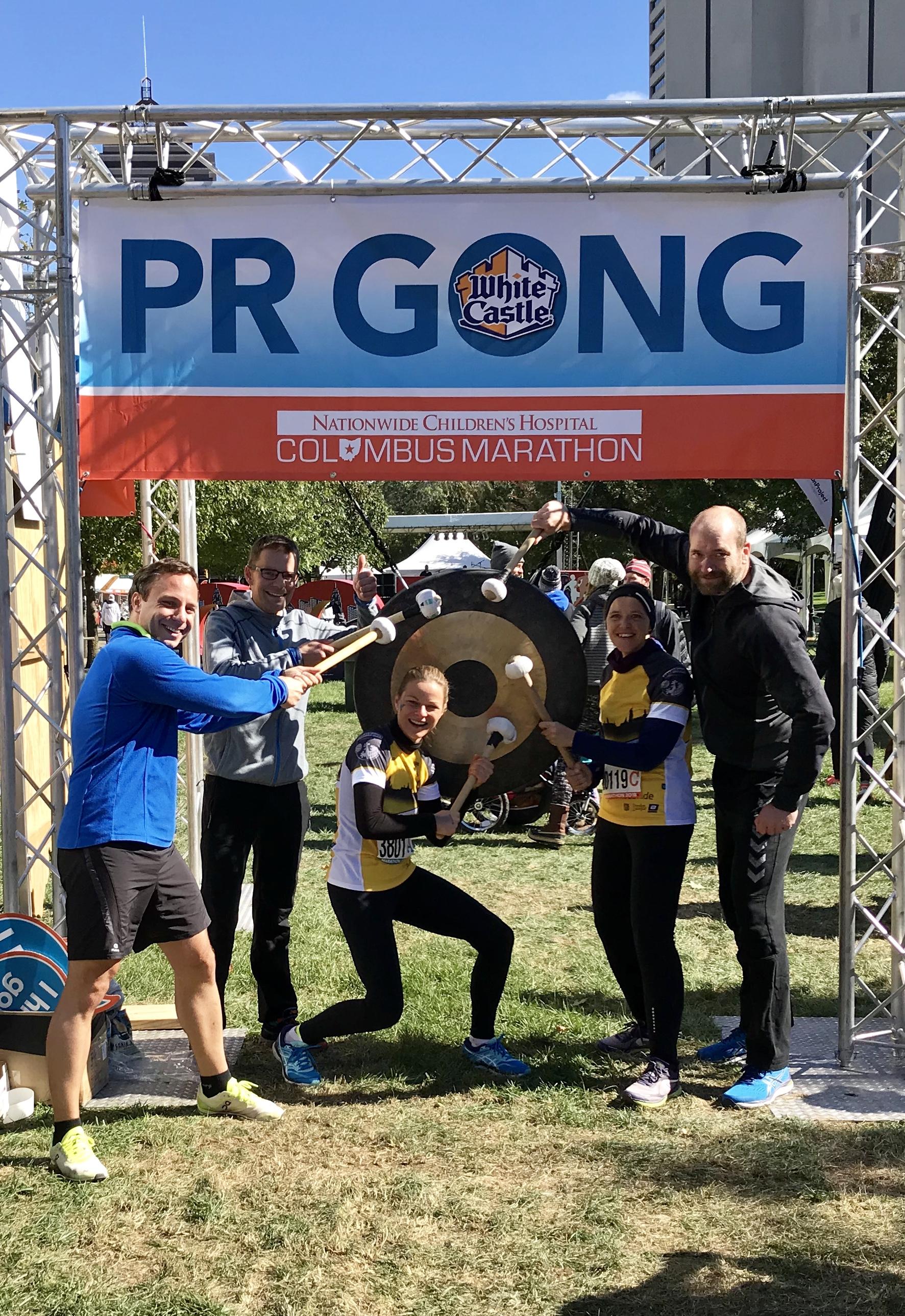 Ausschreibung für Marathon in Columbus